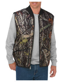 Diamond Quilted Camo Vest - CAMO NEW CONCEAL (CNC)