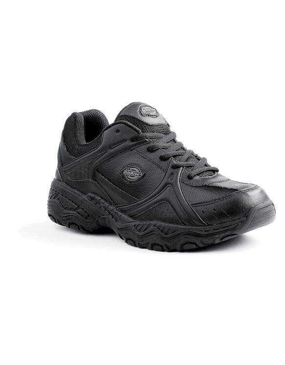 Men's Slip Resisting Venue II Work Shoes - Black (FBK) (FBK)