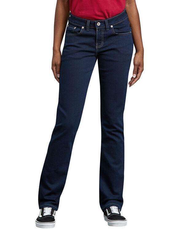 Jeans extensible pour femmes - DARK STONE WASH (DSW)