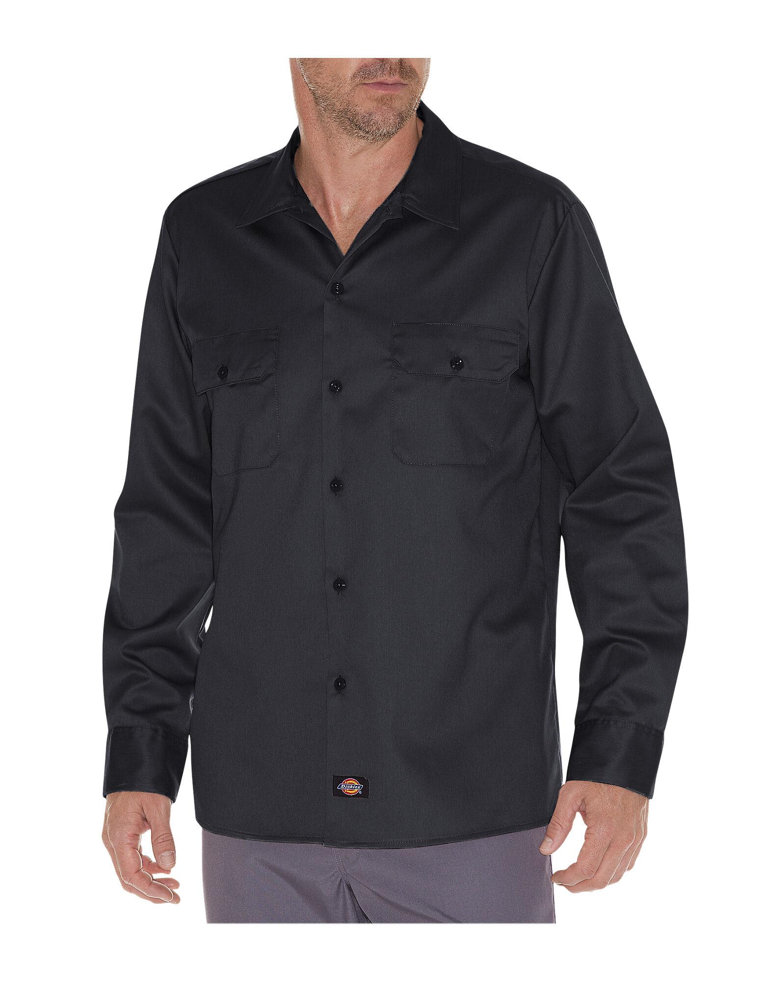 Slim Fit Long Sleeve Work Shirt Mens Shirts Dickies