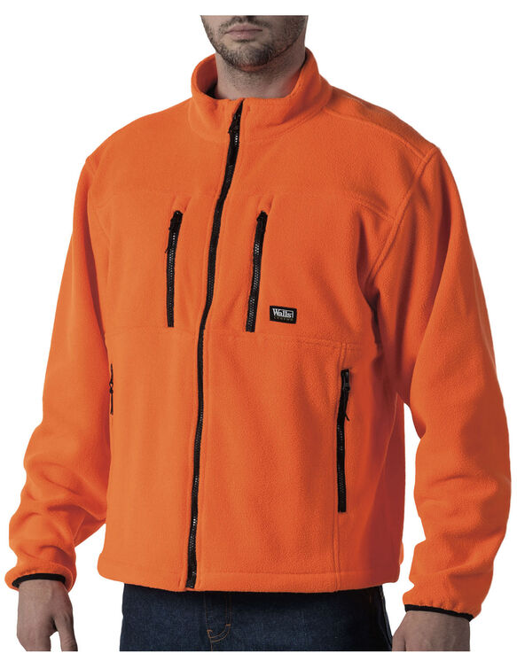 Walls® Polar Fleece Zip Jacket - BLAZE ORANGE (BZ9)