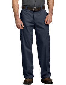 Relaxed Fit Straight Leg Cargo Pant - DARK NAVY (DN)