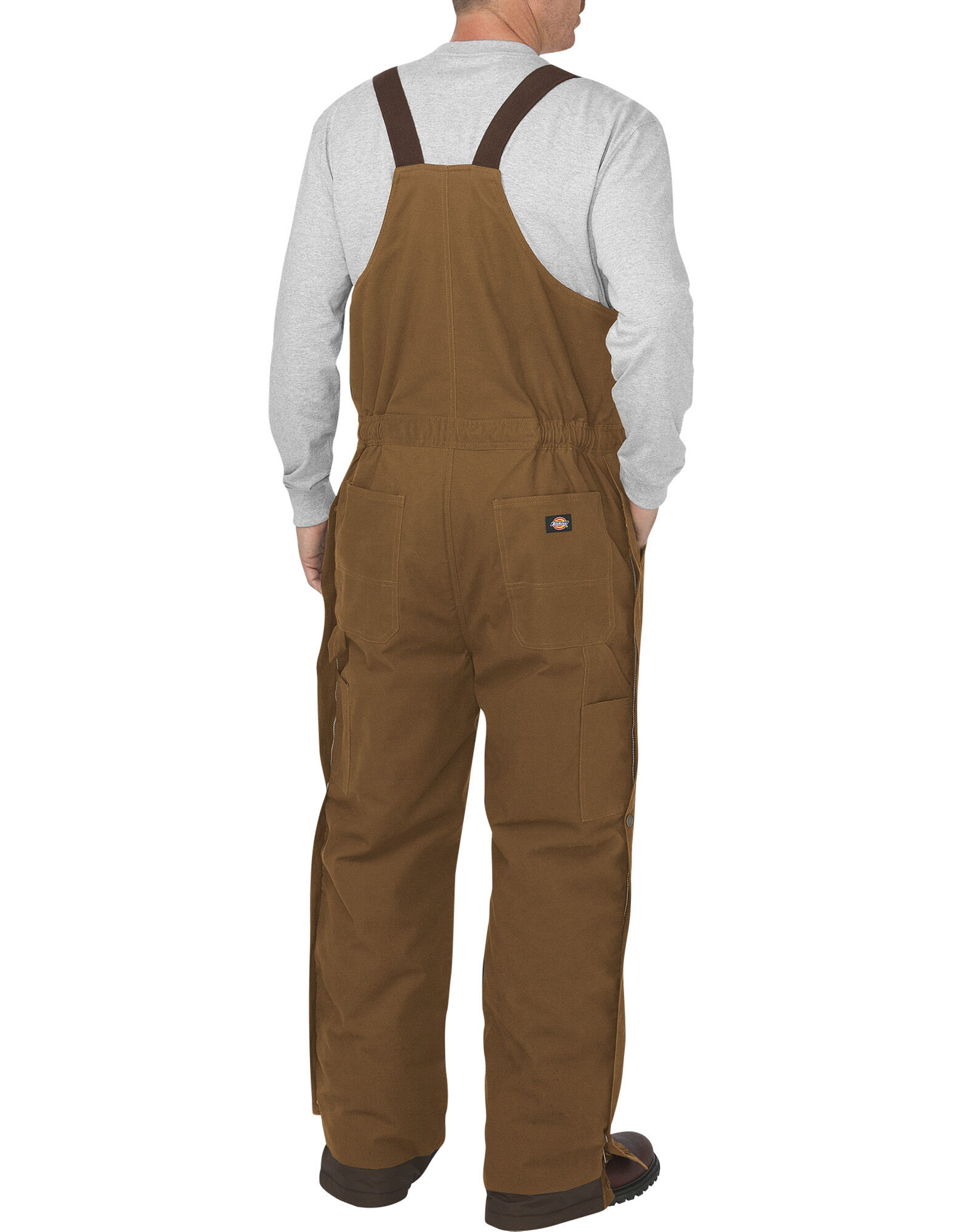 Flex Sanded Stretch Duck Bib Overall Dickies