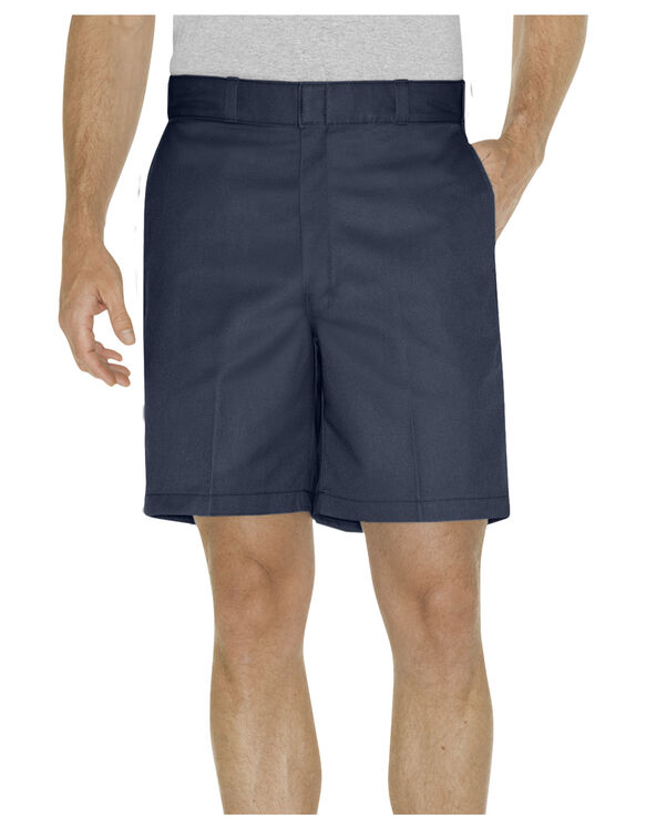 "8"" Relaxed Fit Traditional Flat Front Short"