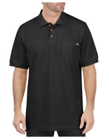 Short Sleeve Performance Polo - BLACK (BK)