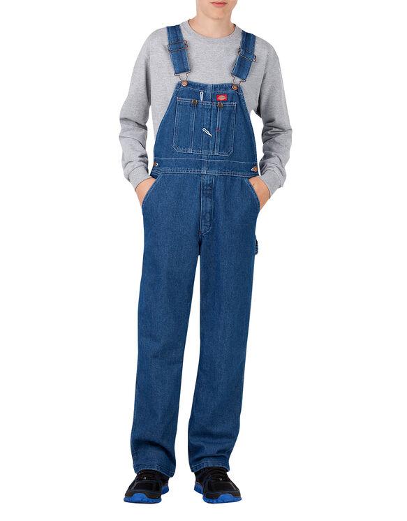 Kids' Denim Bib Overall, 4-7 - STONEWASHED INDIGO BLUE (SNB)