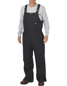 Flex Sanded Stretch Duck Bib Overall - BLACK (BK)