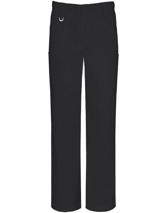 Men's EDS Fly Pull-on Scrub Pant with Certainty® - BLACK-LICENSEE (BLK)