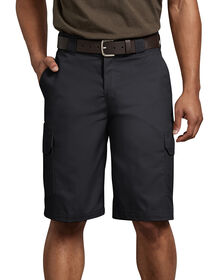 "FLEX 11"" Regular Fit Cargo Short - BLACK (BK)"