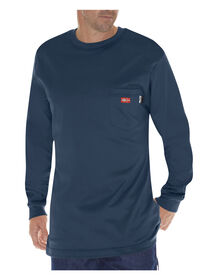Flame-Resistant Long Sleeve Tee - NAVY (NV)