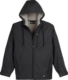 Performance Flex Bonded Canvas Softshell Jacket w/Hood