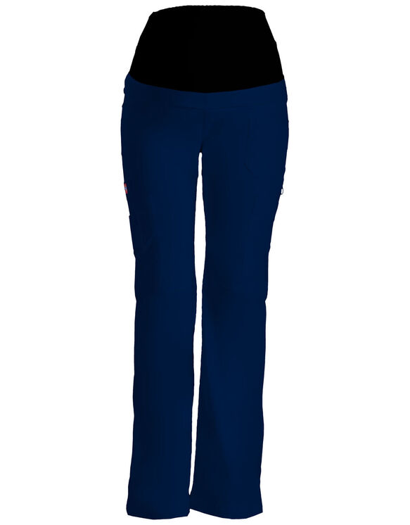 Women's Gen Flex Maternity Pull-On Scrub Pant - NAVY-LICENSEE (NVY)