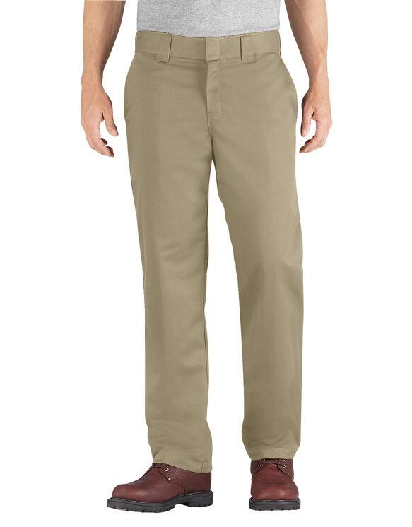 Regular Fit Straight Leg Ring Spun Work Pant - DESERT SAND (DS)