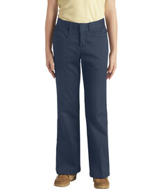 Girls' Classic Fit Boot Cut Leg Stretch Pant (Plus), 7-20 - DARK NAVY (DN)