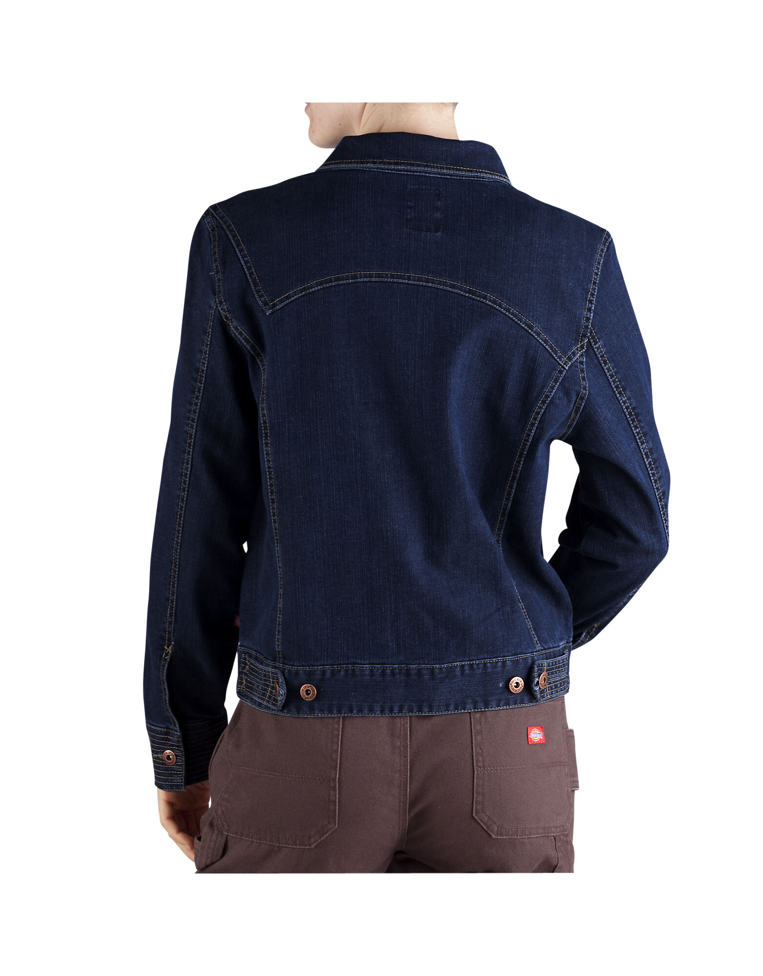 Womens Denim Jacket | Stretch | Dickies