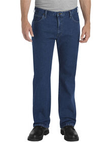 Flex Relaxed Fit Straight Leg 5-Pocket Denim Jean - FLEX RINSED INDIGO (FRI)