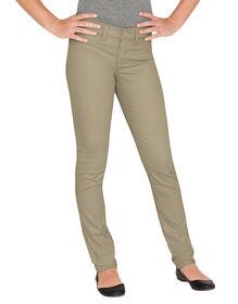 Girls' Super Skinny Fit Skinny Leg Pant, 7-16 - RINSED DESERT SAND (RDS)