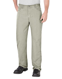 Relaxed Fit Straight Leg Ripstop Carpenter Pant