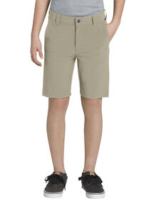 Boys' Slim Fit Hybrid Performance Short, 8-18 - DESERT SAND (DS)
