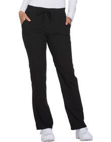 Women's Xtreme Stretch Drawstring Scrub Pant - BLACK (BLK)