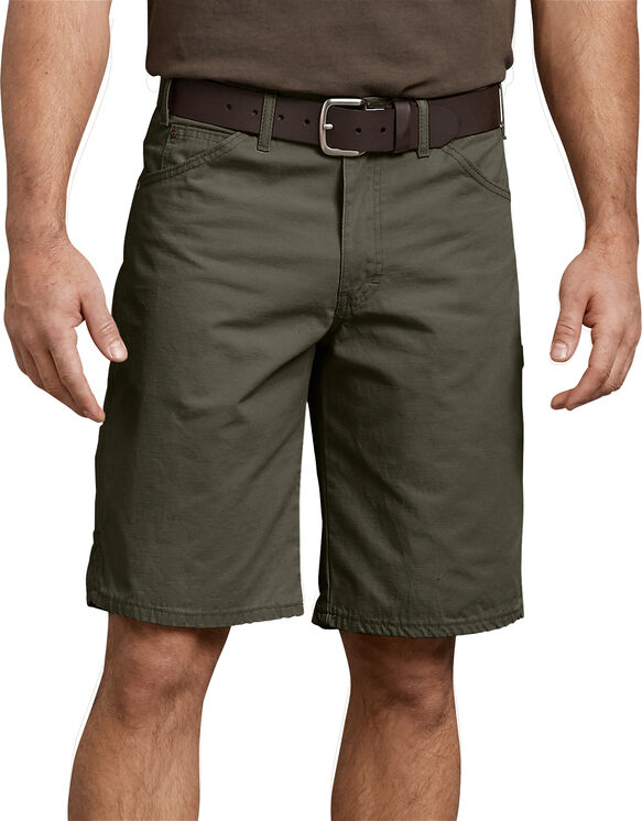"""11"""" Relaxed Fit Ripstop Carpenter Short"""