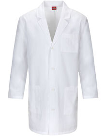 "Unisex EDS Signature 37"" Lab Coat with Certainty PLUS™ - WHITE (WH)"