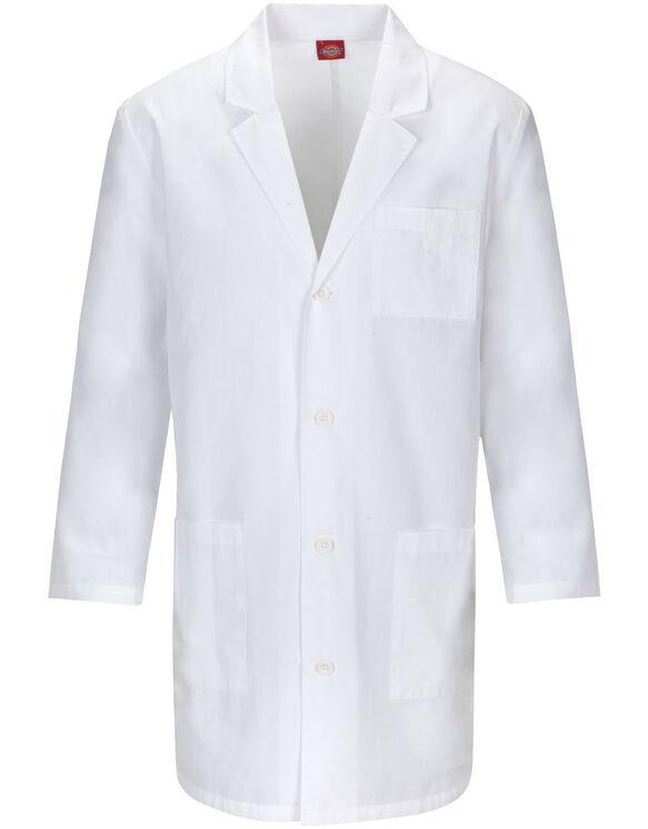 "Unisex EDS Signature 37"" Lab Coat with Certainty PLUS™ - WHITE (WH)"