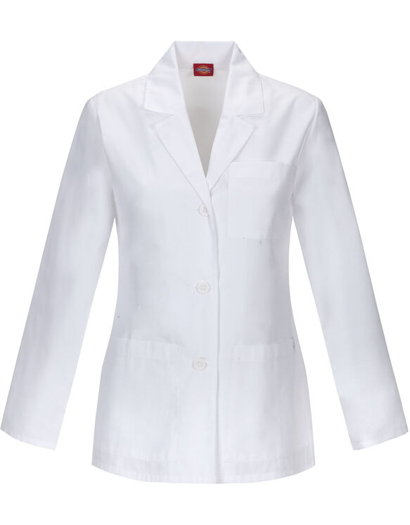 "Women's EDS Signature 28"" Lab Coat Certainty PLUS™ - WHITE (WH)"