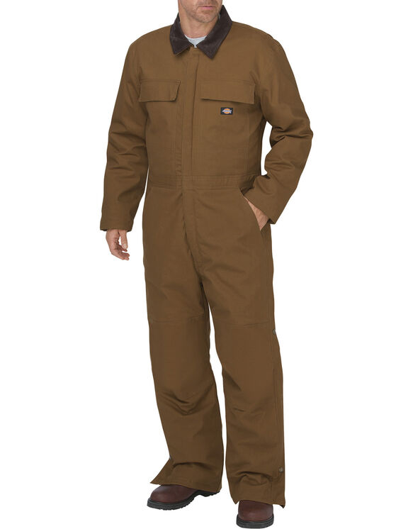 Flex Sanded Stretch Duck Insulated Coverall - BROWN DUCK (BD)
