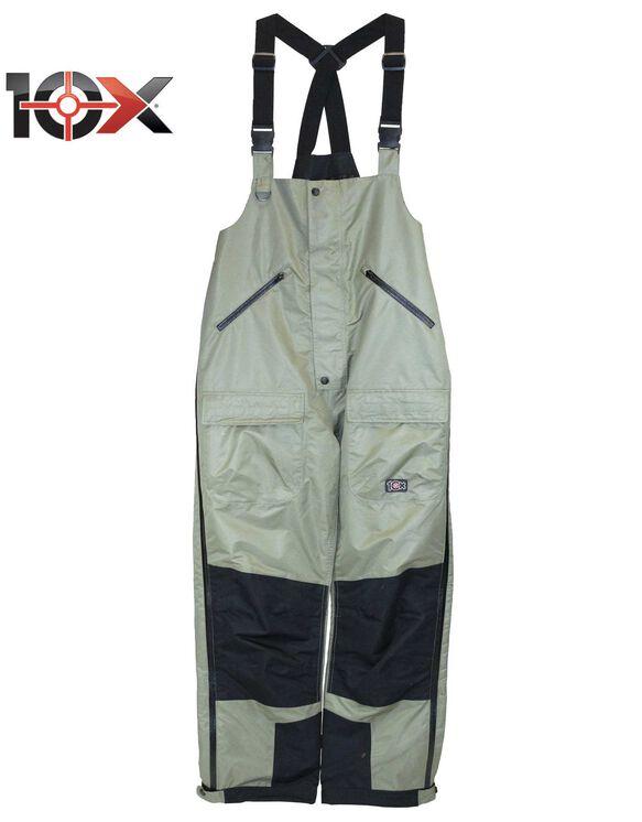 10X® Rainwear Bib - FIELD GREEN 10X (FG9)