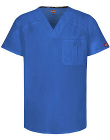 Men's EDS V-Neck Scrub Top with Certainty® - ROYAL BLUE (RB)