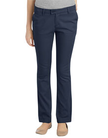 Juniors Schoolwear Slim Fit Straight Leg Stretch Pant - DARK NAVY (DN)