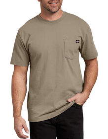 Short Sleeve Heavyweight Crew Neck Tee - DESERT SAND (DS)