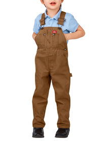 Kids' Duck Bib Overall, 4-7 - RINSED BROWN DUCK (RBD)