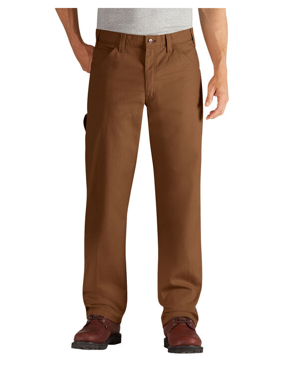 Flame-Resistant Duck Carpenter Jean - RINSED BROWN DUCK (RBD)