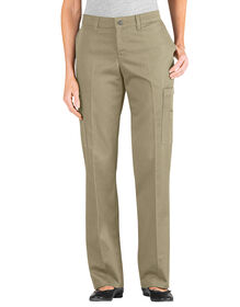 Women's Relaxed Fit Straight Leg Cargo Pant - DESERT SAND (DS)