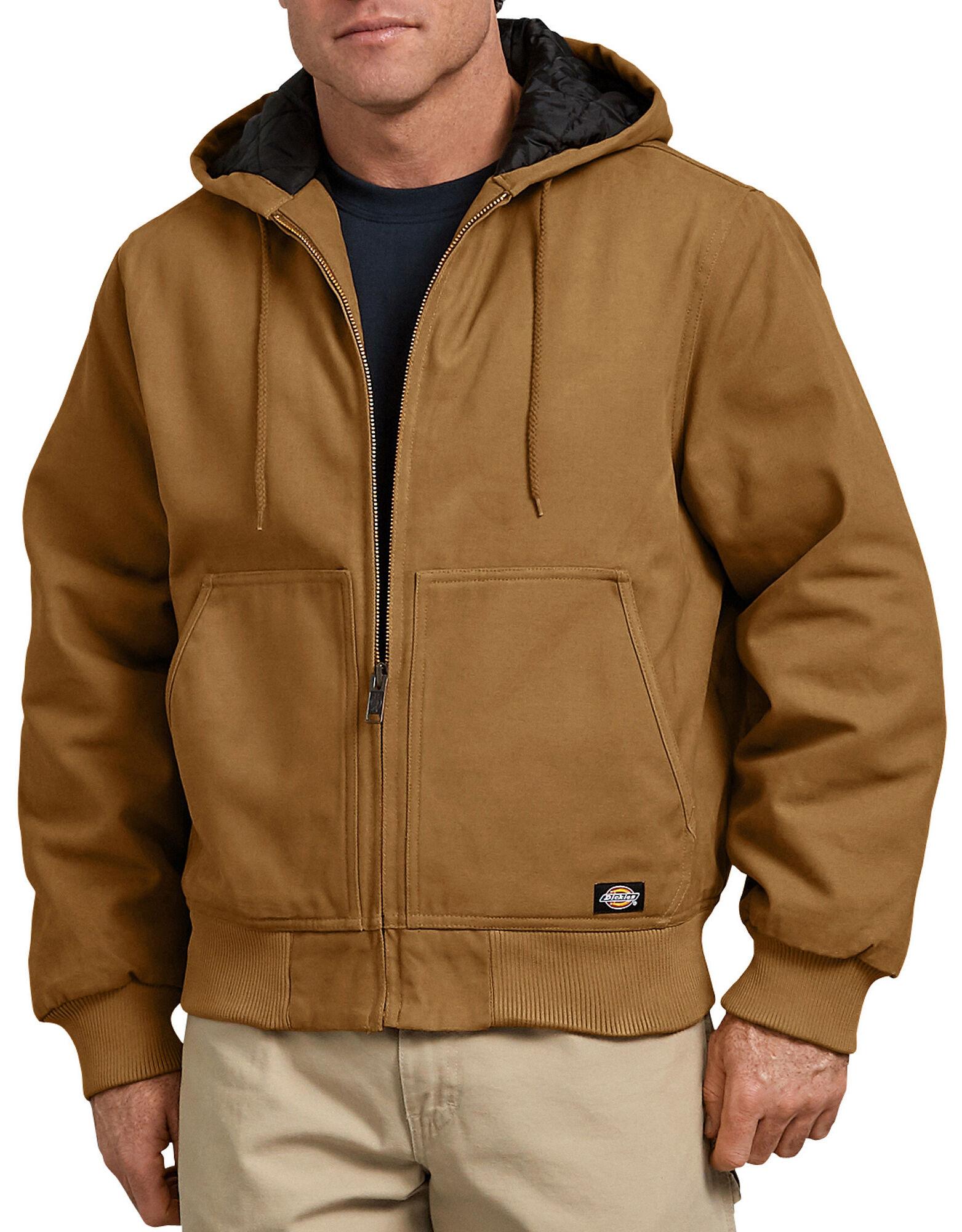 Sanded Duck Hooded Jacket for Men   Dickies
