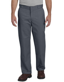 Flex Relaxed Fit Straight Leg Double Knee Work Pant - CHARCOAL (CH)
