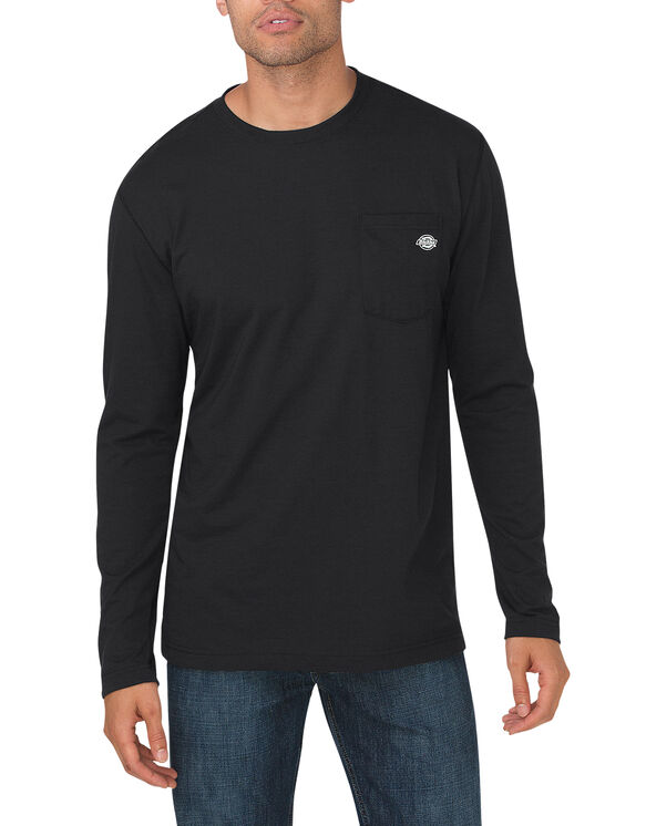 Performance Long Sleeve drirelease® Tee - BLACK (BK)