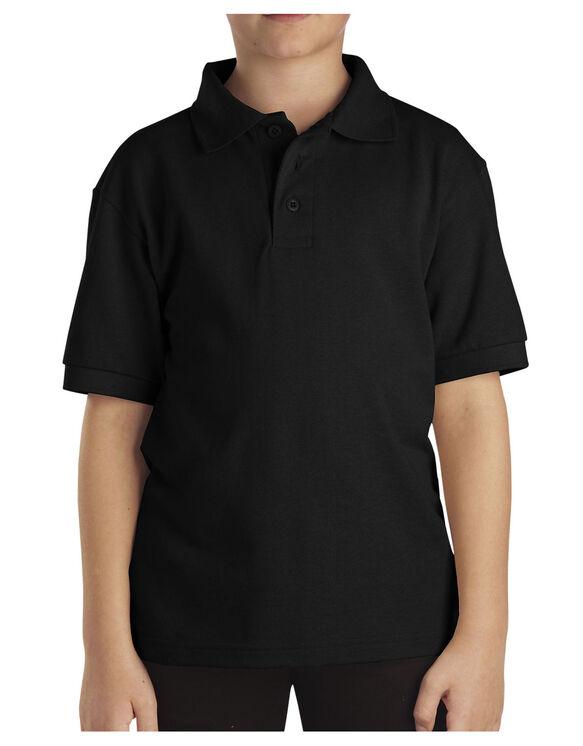 Kids' Short Sleeve Pique Polo Shirt