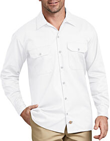 Long Sleeve Work Shirt - WHITE (WH)