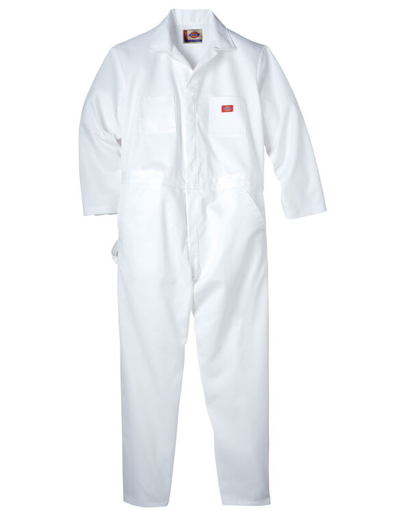 Painter's Long Sleeve Coverall - WHITE (WH)