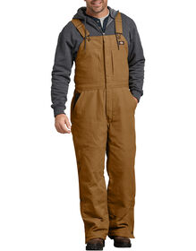 Sanded Duck Insulated Bib Overall - BROWN DUCK (BD)