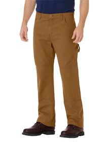 Relaxed Straight Fit Double Knee Carpenter Duck Jean - RINSED BROWN DUCK (RBD)