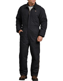 Sanded Duck Insulated Coverall - RINSED BLACK (RBK)
