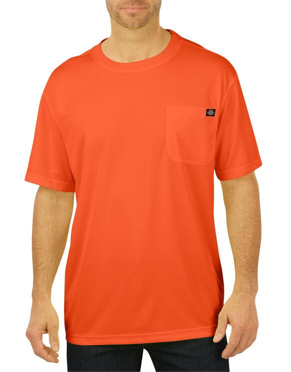 Enhanced Visibility Short Sleeve Pocket T-Shirt - ANSI ORANGE (AO)