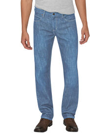 Dickies X-Series Regular Fit Straight Leg 5-Pocket Denim Jean - HERITAGE LIGHT INDIGO (HLI)
