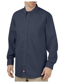 Industrial Flex Comfort Long Sleeve Shirt - NAVY (NV)