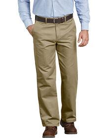 Premium Cotton Flat Front Pant - KHAKI (KH)