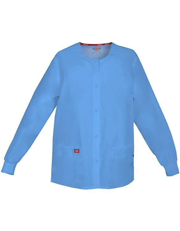 Women S Eds Signature Snap Front Warm Up Scrub Jacket